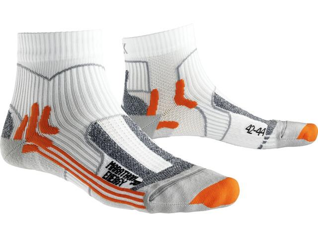 X-Socks M's Marathon Energy Socks White/Orange
